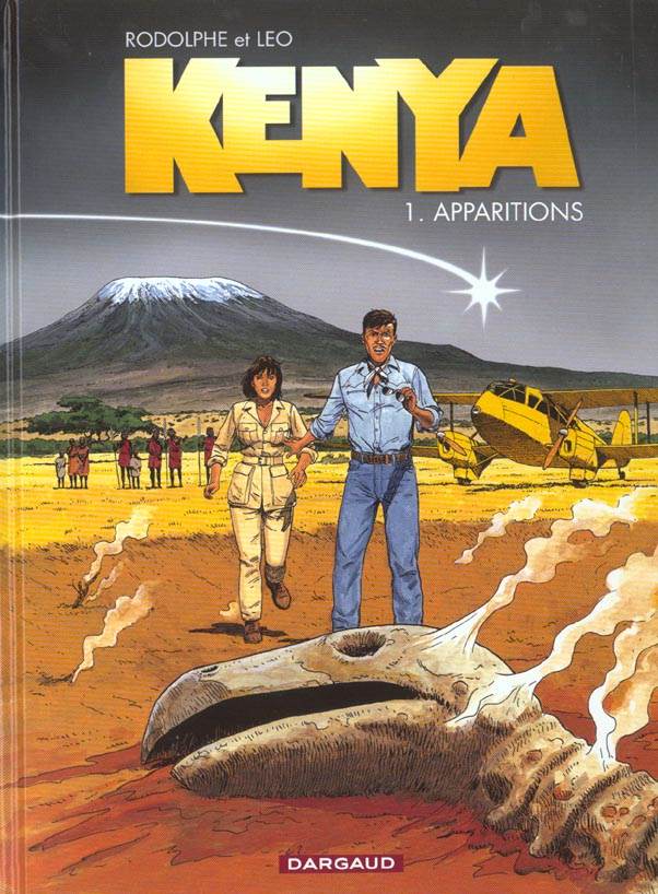 KENYA T1 APPARITIONS LEO/RODOLPHE DARGAUD